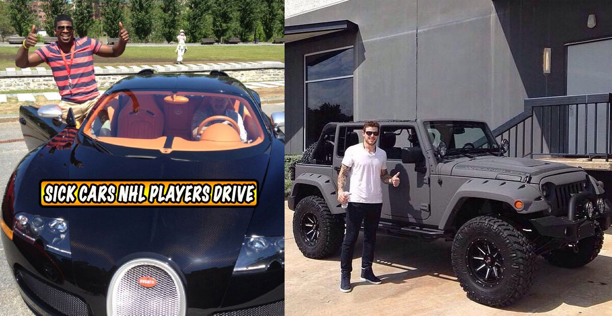 The 20 Sickest Cars Driven By NHL Players | HotCars