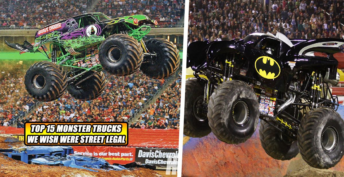 15 Monster Trucks We Wish Were Street Legal Hotcars