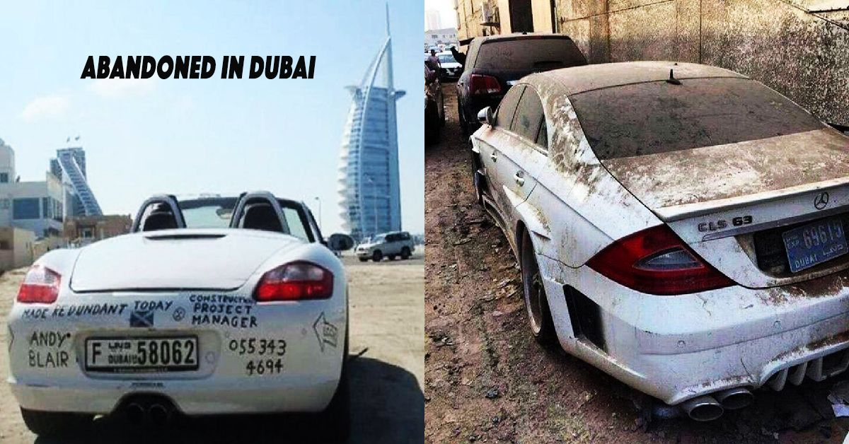 20 Dream Cars That Were Dumped In Dubai S Desert Hotcars