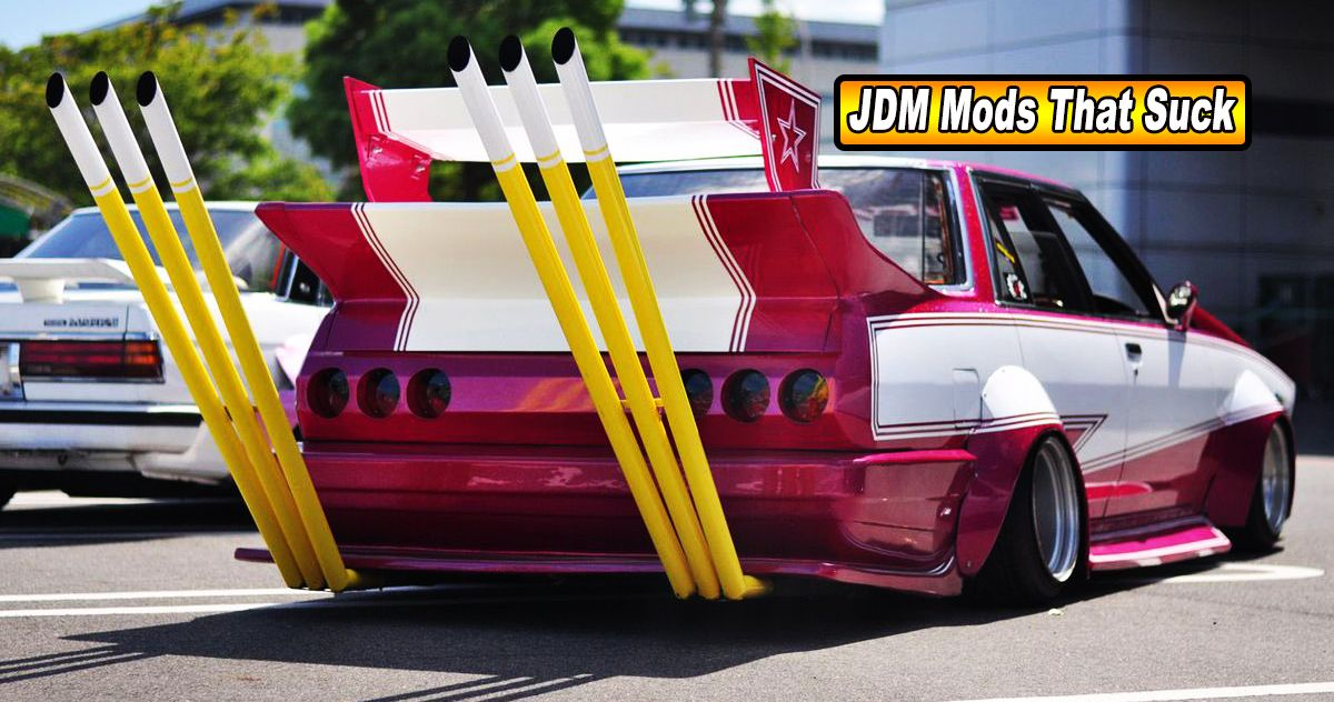 25 JDM Mods That Make Zero Sense | HotCars