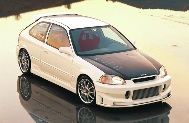 12th 1996 HONDA CIVIC (BY SUNNY STYLINGS)