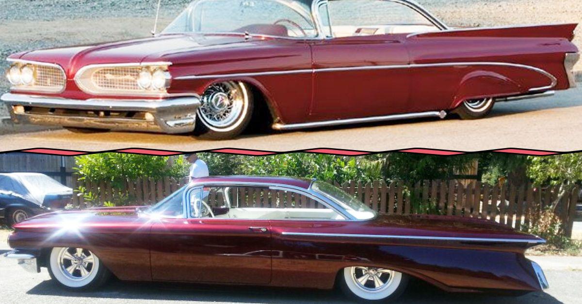 20 Sick Modified Classic Tailfin Cars   HotCars