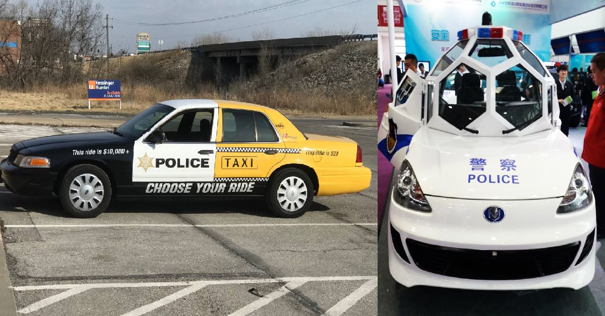 Police Car Website >> 20 Police Cars That Belong In The Junkyard Hotcars