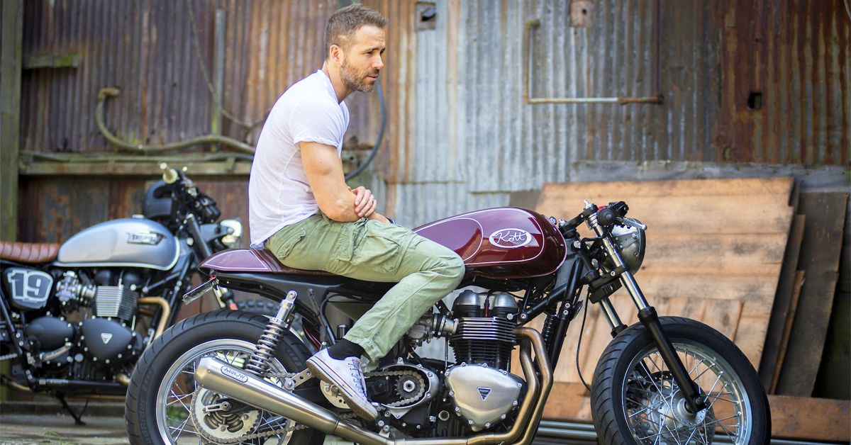 25 Pics Of Famous People And Their Motorcycles   HotCars