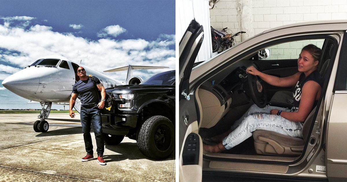 13 Wrestling Stars Who Drive Nice Cars And 12 With Beaters