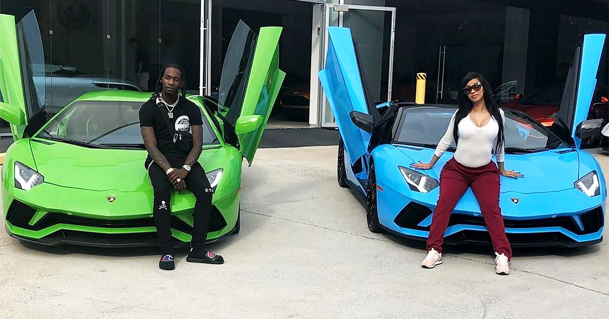 24 Pictures Of Cardi B's Cars (That She Can't Drive