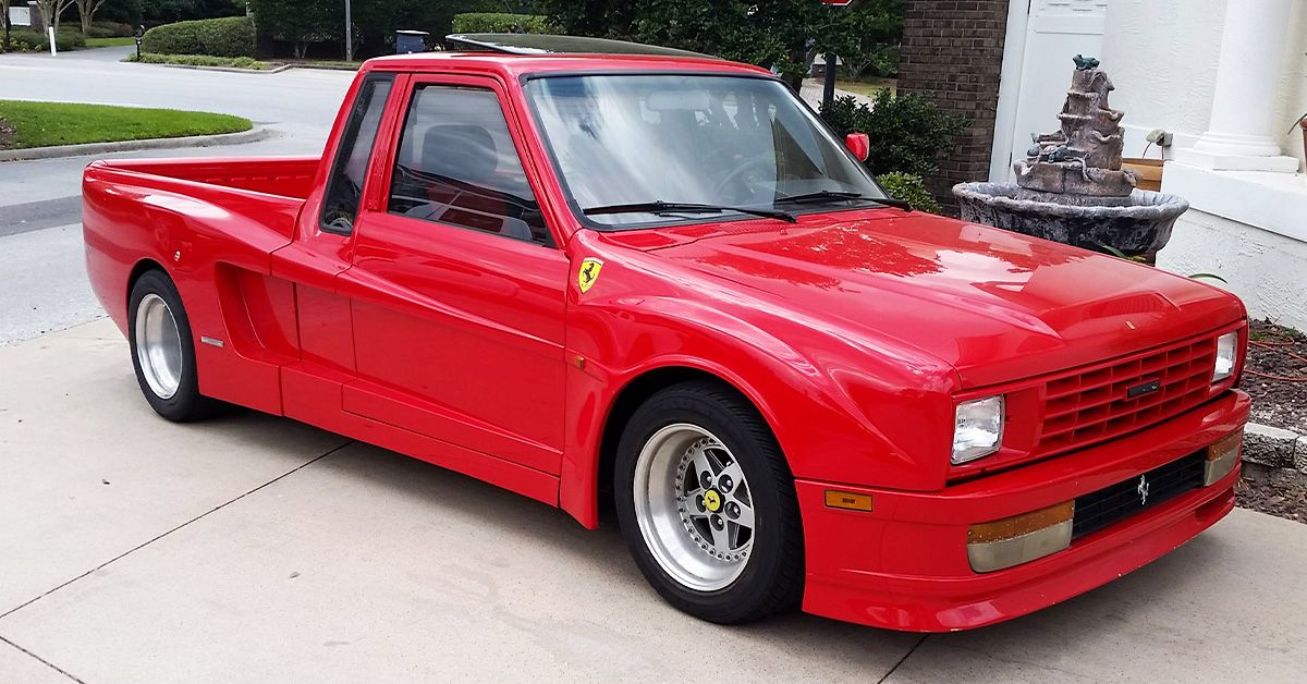 20 Homemade Pickup Trucks We Wouldn't Touch With A Ten Foot Pole