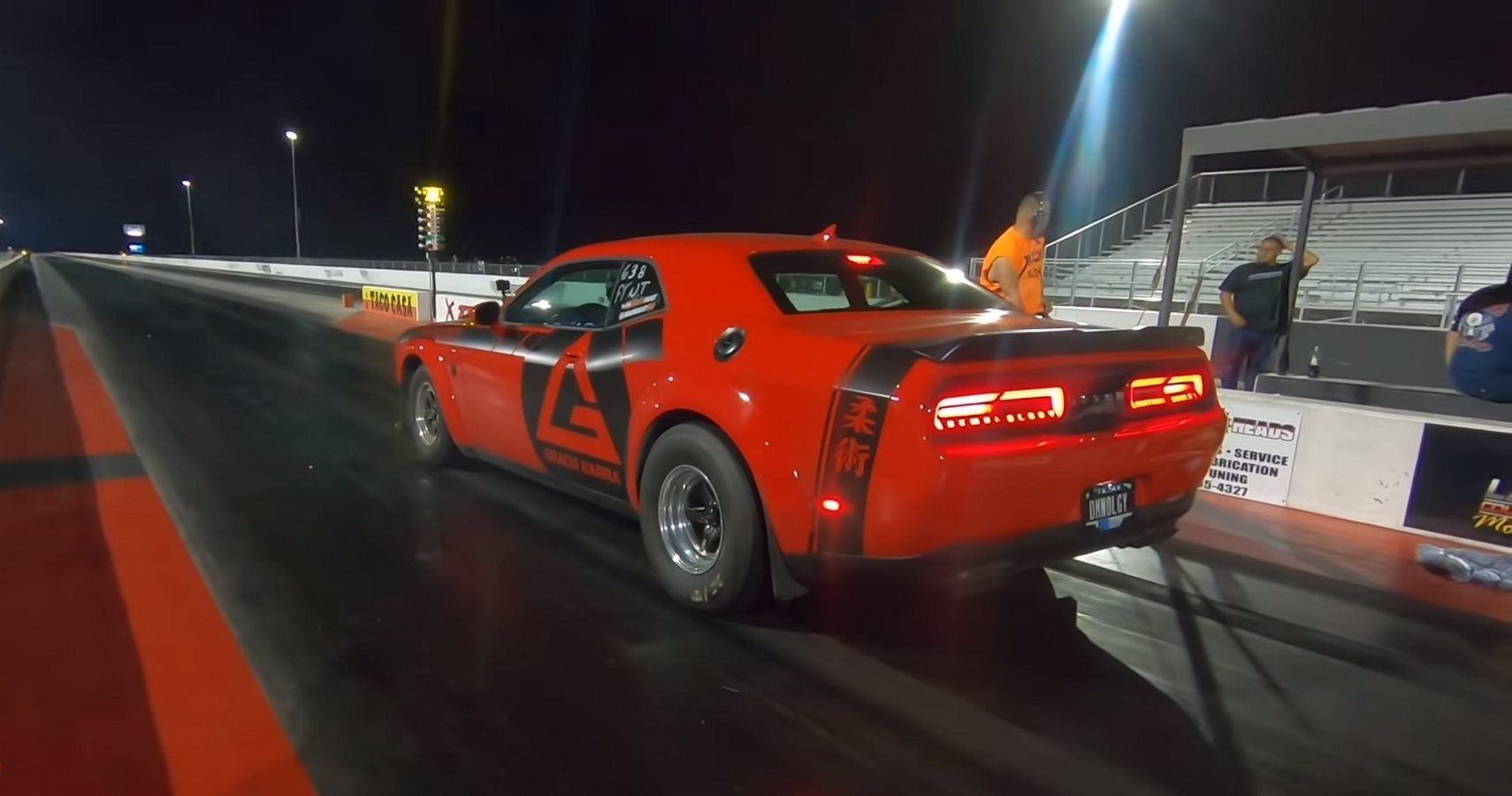 Mustang GT500 Takes On Dodge Demon In Quarter-Mile Action