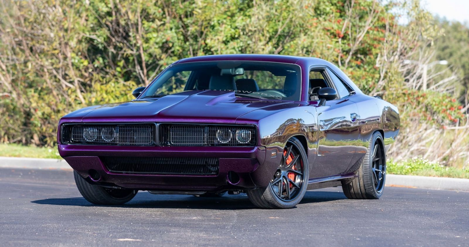 Check Out This 2019 Dodge Challenger With A 1969 Charger Bodykit