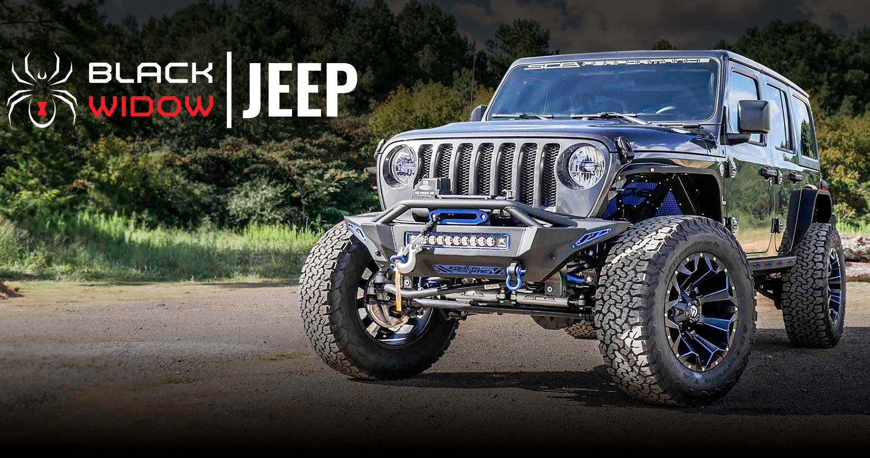 SCA Performance Releases All-New 2020 Jeep JL Black Widow