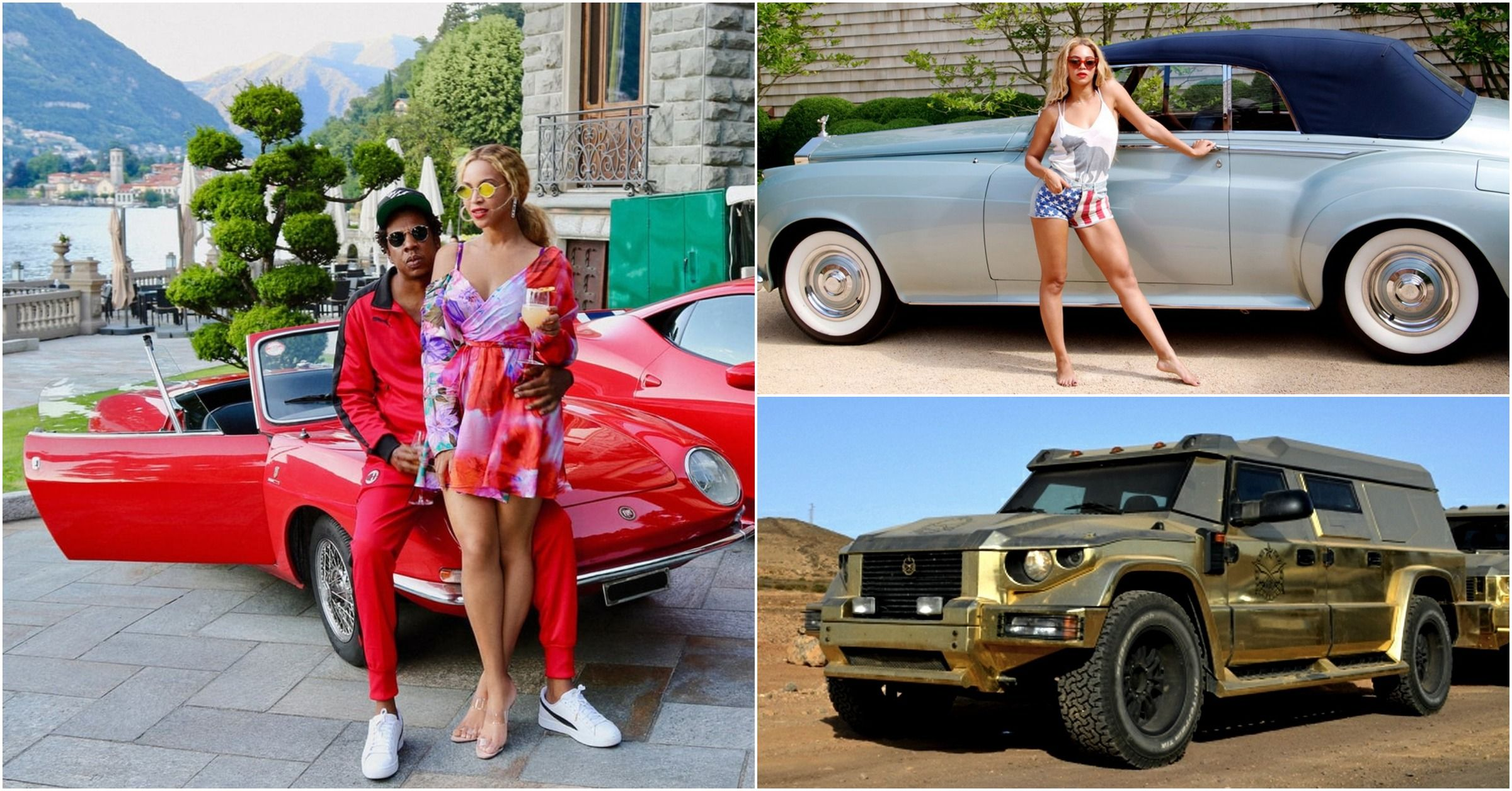 15 Stunning Images Of Jay-Z And Beyonce's Car Collection