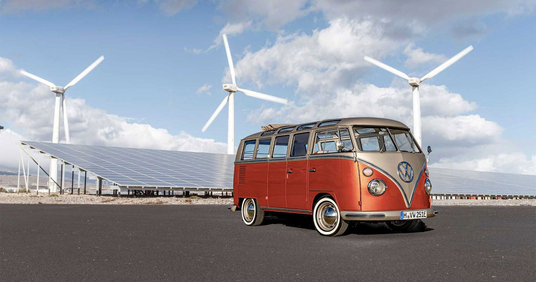 VW e-Bulli Is A Classic Bus With An Electric Heart