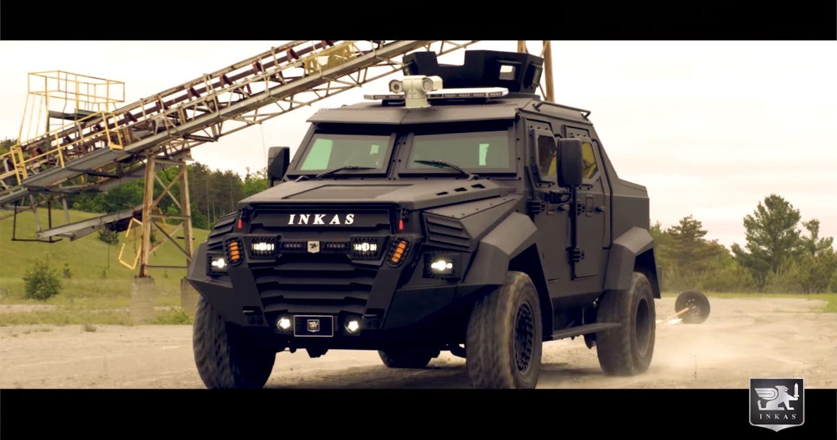Inkas Sentry Civilian Edition