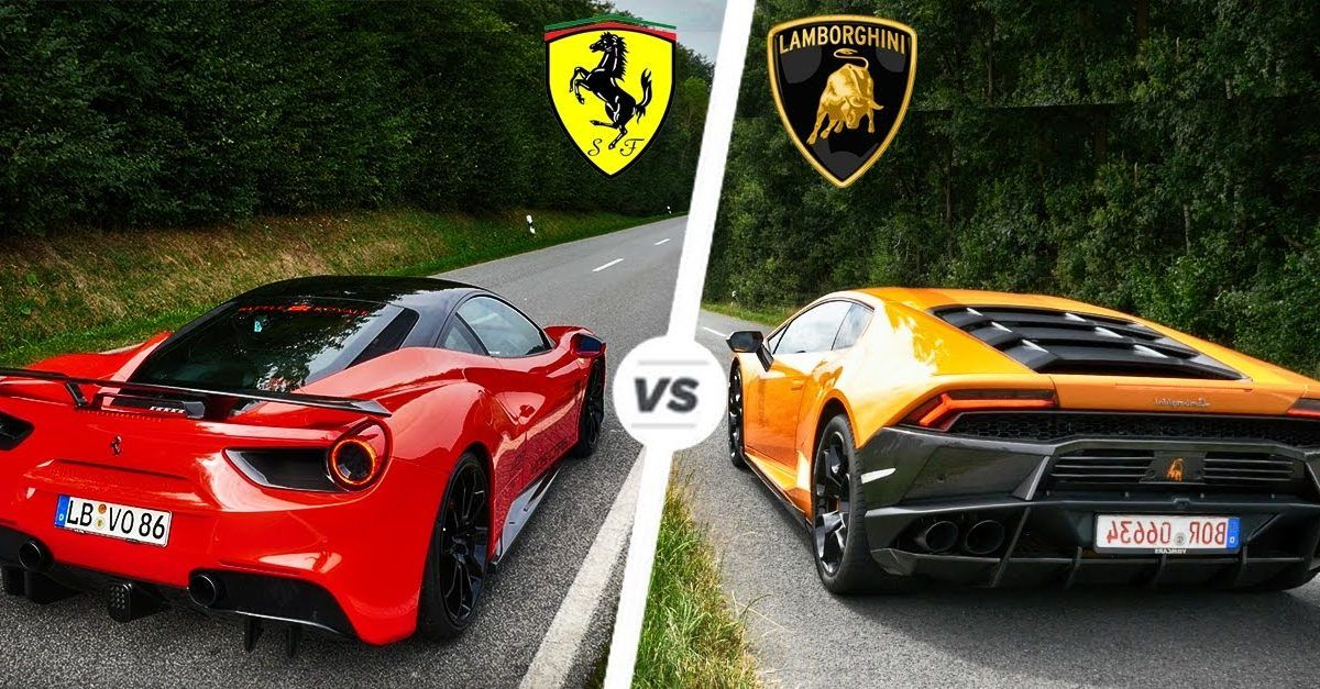 Ferrari Vs Lamborghini Who Makes The Best Supercars Hotcars