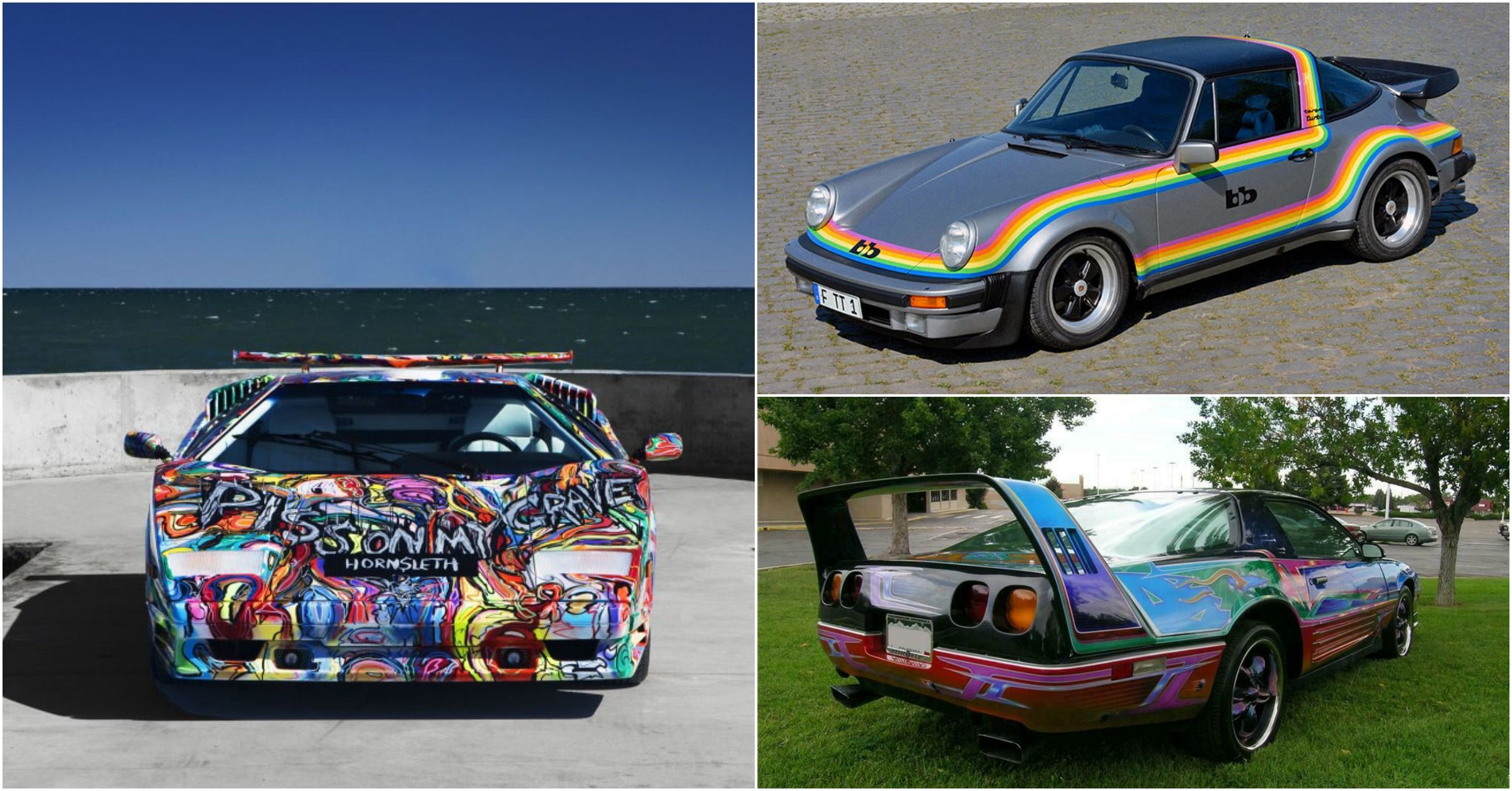14 Greatest Classic Cars Of The 80s Ruined With Bad Paint Jobs