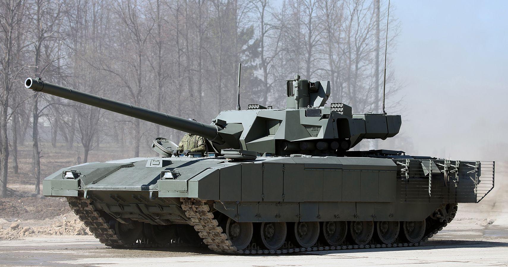 Irreconhecível: tanque russo T-14 Armata modernizado chega à perfeição