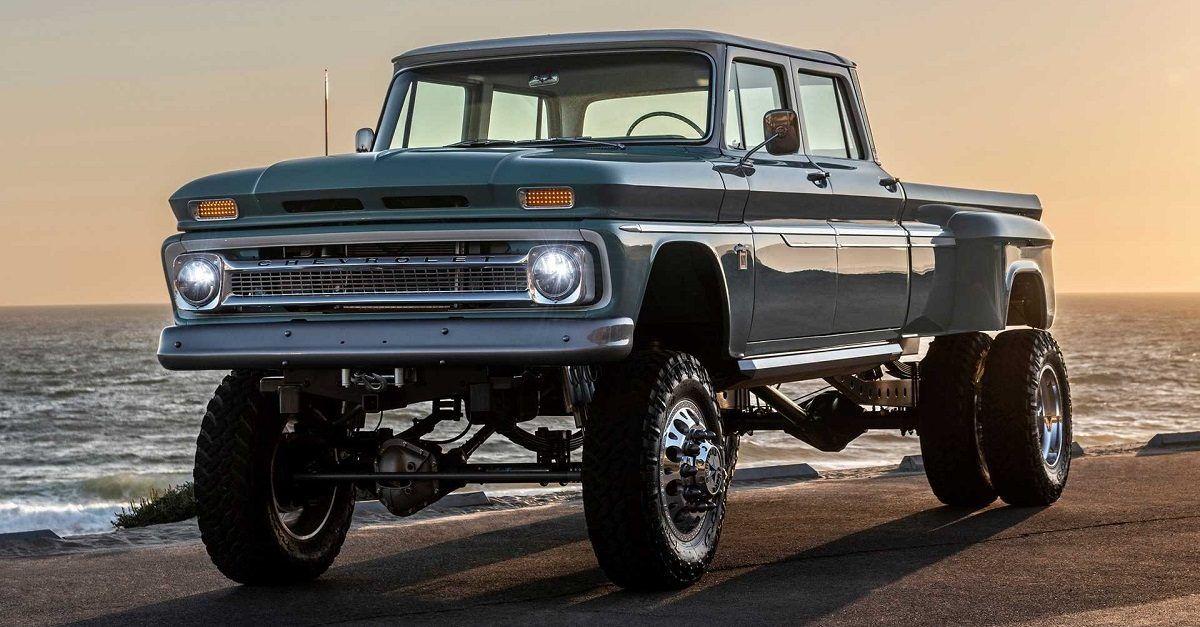 14 Sick Pics Of Custom Dually Trucks You Want To See Hotcars