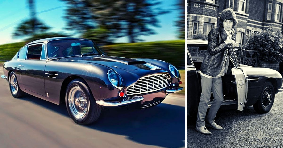 The True Story Of Mick Jagger Crashing His DB6 In London