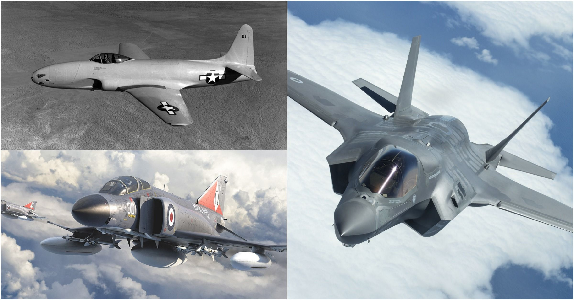 The Evolution Of American Fighter Jets, Captured In Pictures