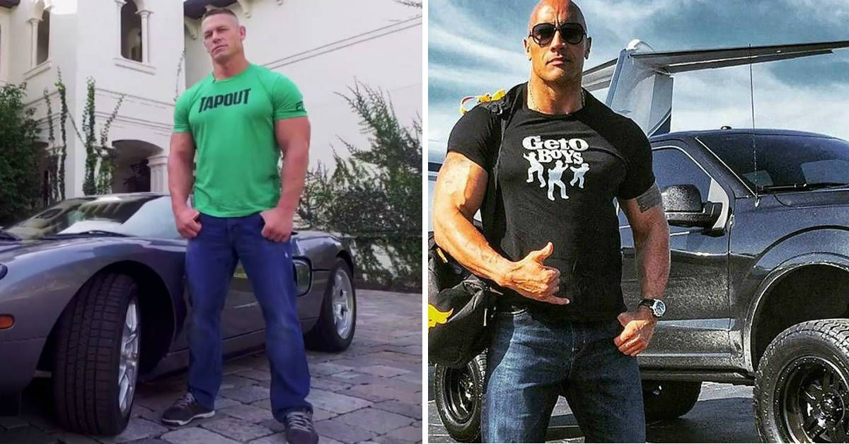 The Rock Vs. John Cena: Who Has The Better Cars?