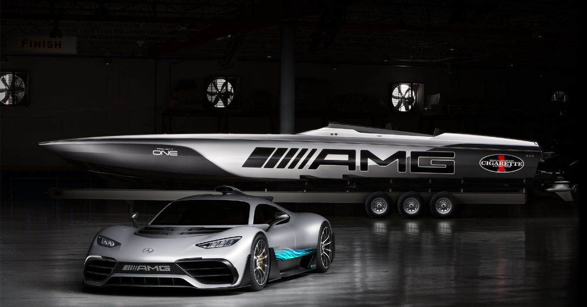 The History Of AMG's Luxury Speed Boats
