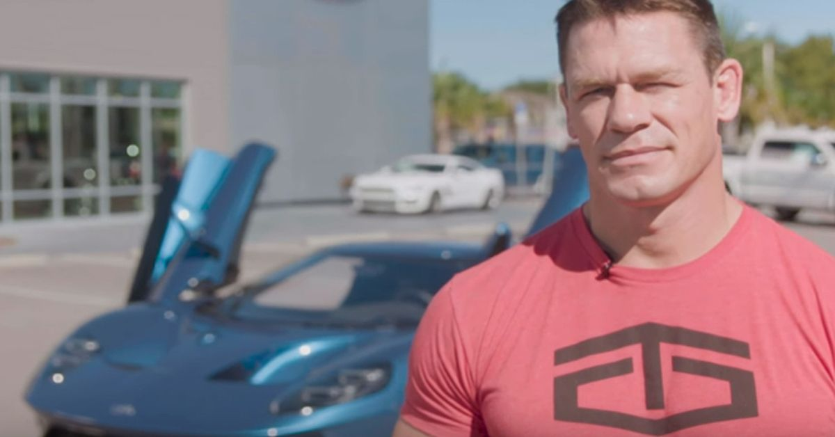 Here's Why John Cena Got Sued By Ford Over His GT