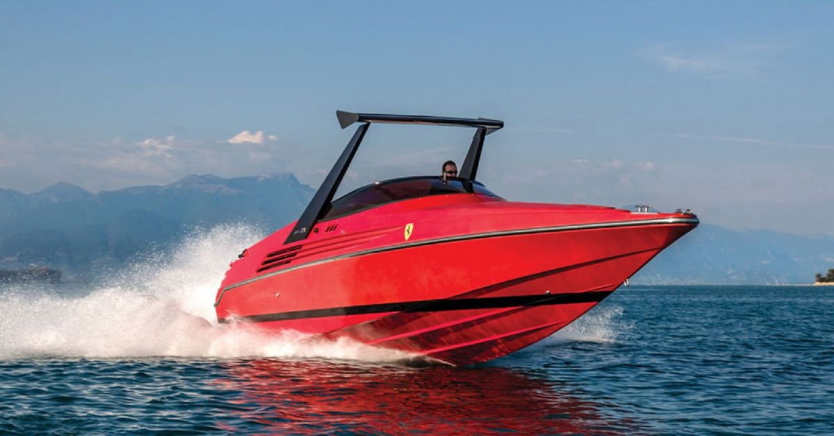 Ferrari Made A Boat, And It Cost $70,000