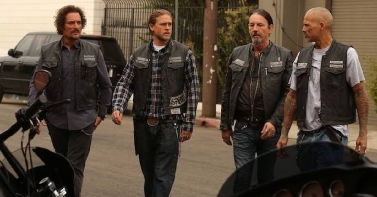 """This """"Sons Of Anarchy"""" Star Was Actually A Hells Angel"""