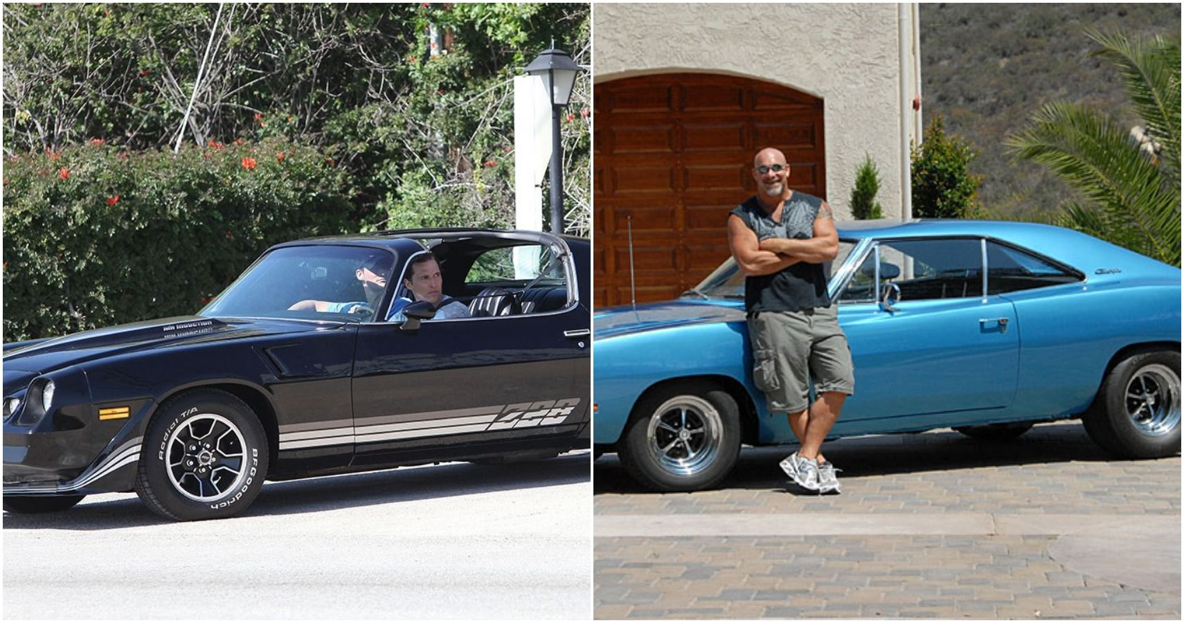 These Celebrities All Drive Rare Muscle Cars