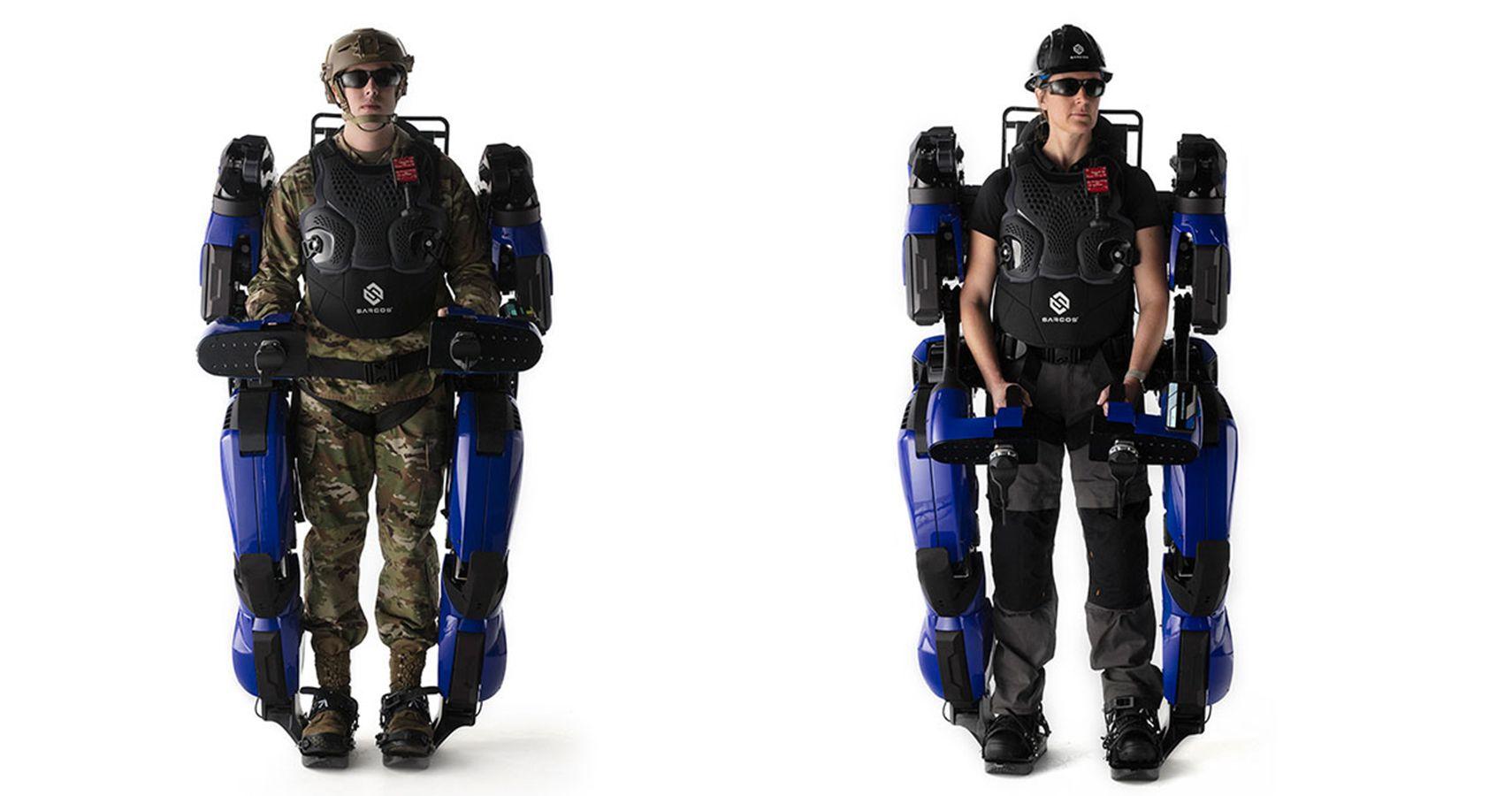 "U.S. Marines To Test ""Iron Man"" Capabilities Of Guardian XO Exoskeleton"