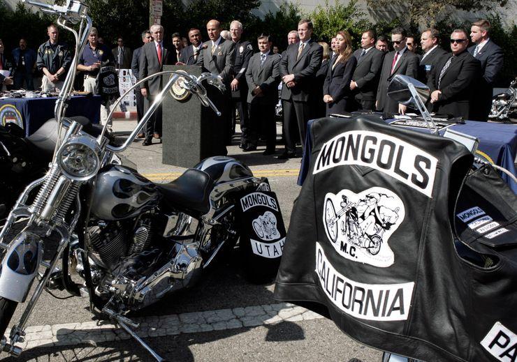 mongol biker gang
