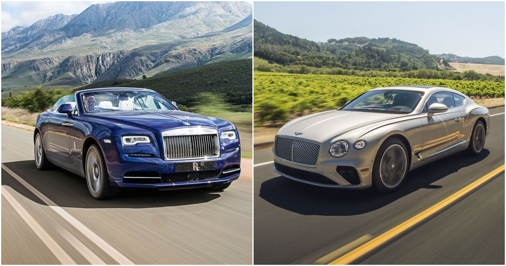 5 Greatest Luxury Cars From Bentley Vs 5 From Rolls Royce
