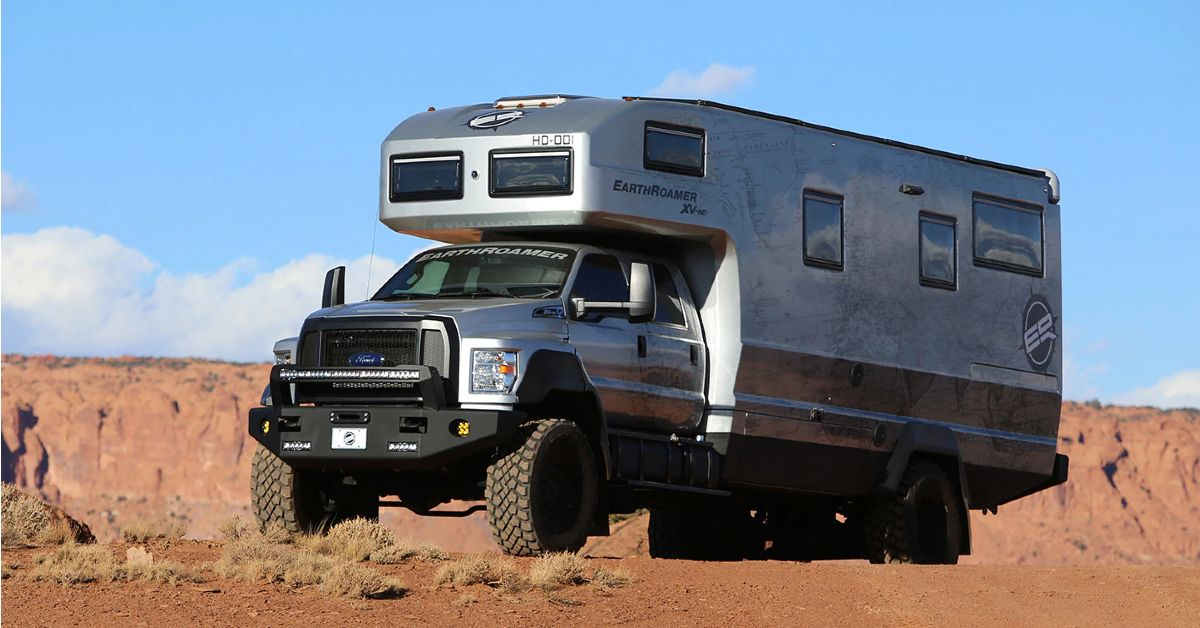 Is The EarthRoamer HD The Most Luxurious Off-Grid Vehicle In The World?