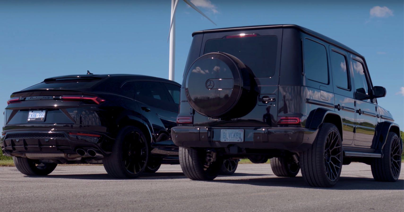 Watch A Lambo Urus Race A Tuned Mercedes-AMG G63