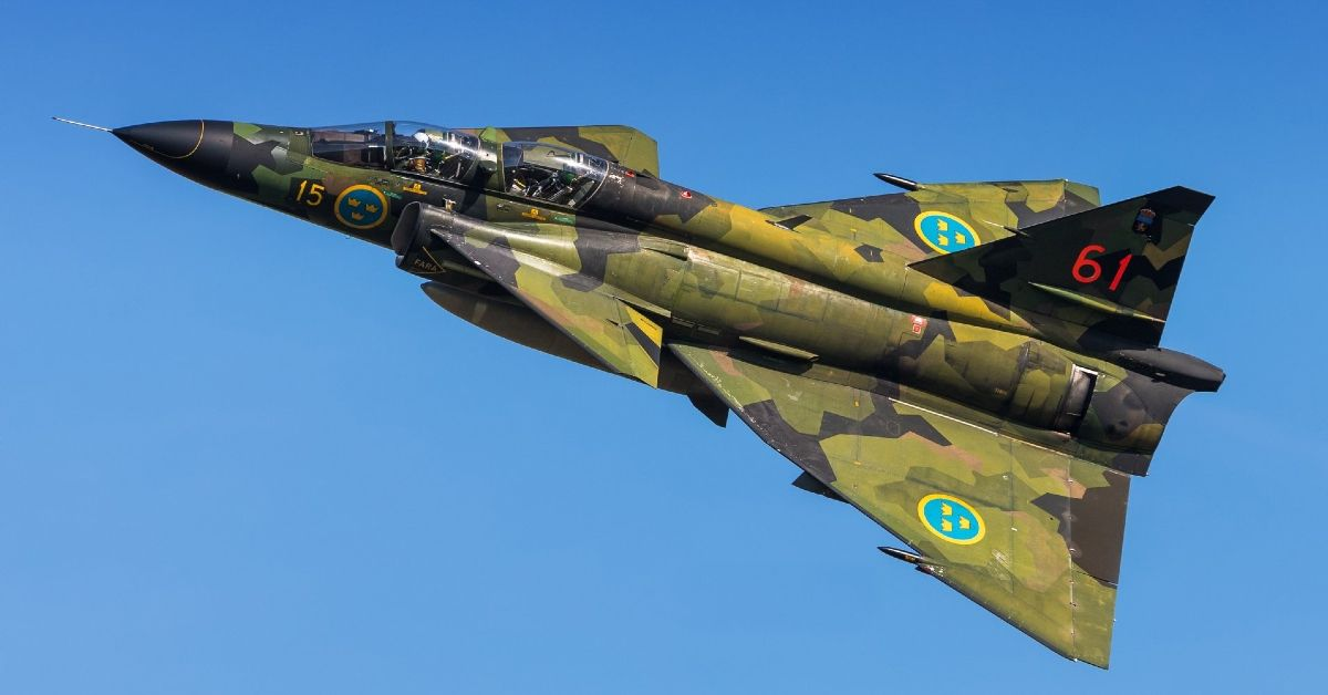 How Saab's Viggen Fighter Almost Took Down The Legendary SR-71 Blackbird