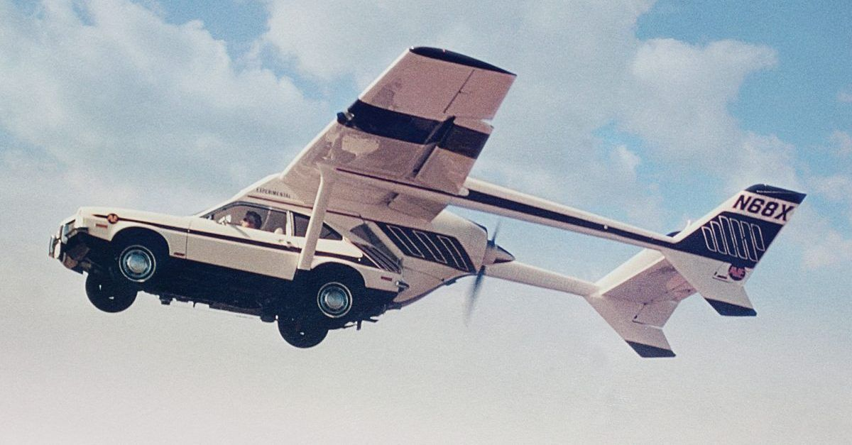 10 Cars That Were Supposed To Make Traffic A Thing Of The Past