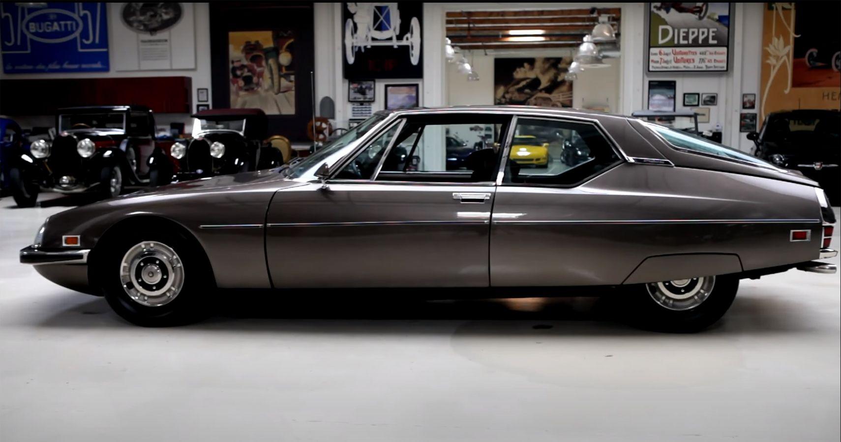 Jay Leno Goes Futuristic In His 1972 Citroën SM Sedan | HotCars