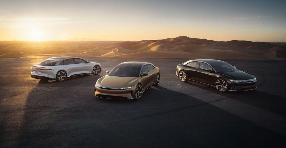 Lucid Motors Takes On Porsche And Tesla With Air Luxury Sedan EV