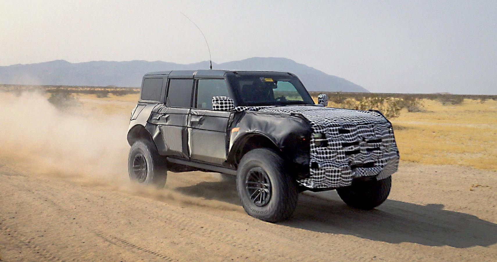 Ford Teases A Bronco With Some Giant Hooves | HotCars