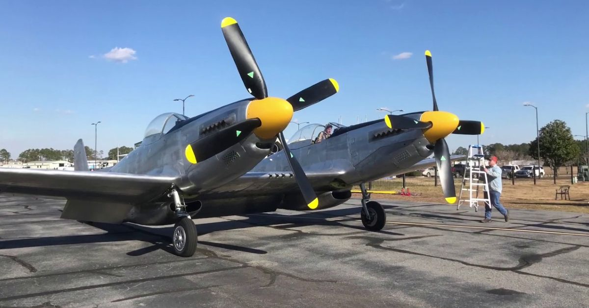 F-82 Twin-Mustang: Why The US Air Force Welded Two P-51s Together After WWII