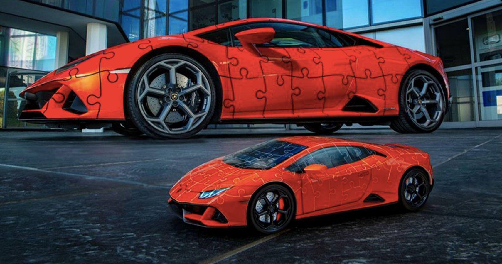 Lamborghini Unveils Huracan EVO 3D Jigsaw Puzzle   HotCars
