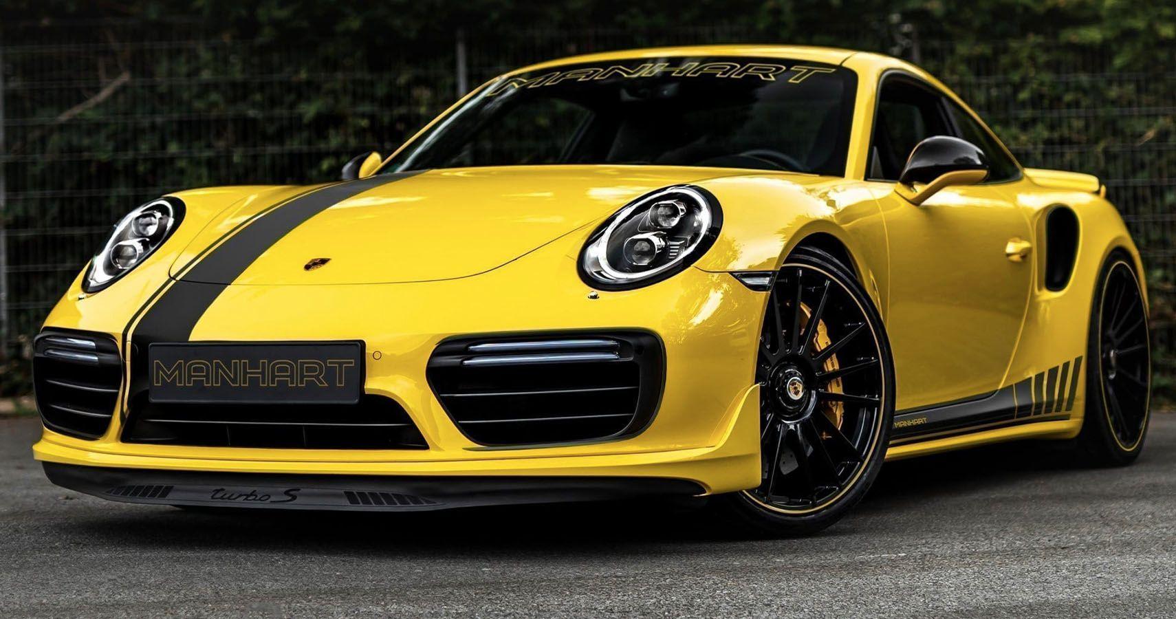 Manhart Unveils 850-HP Porsche 911 Turbo S | HotCars