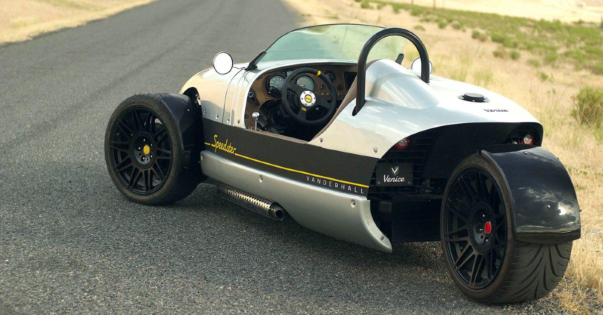 Is The Vanderhall Speedster The Ultimate 3 Wheel Car? | HotCars