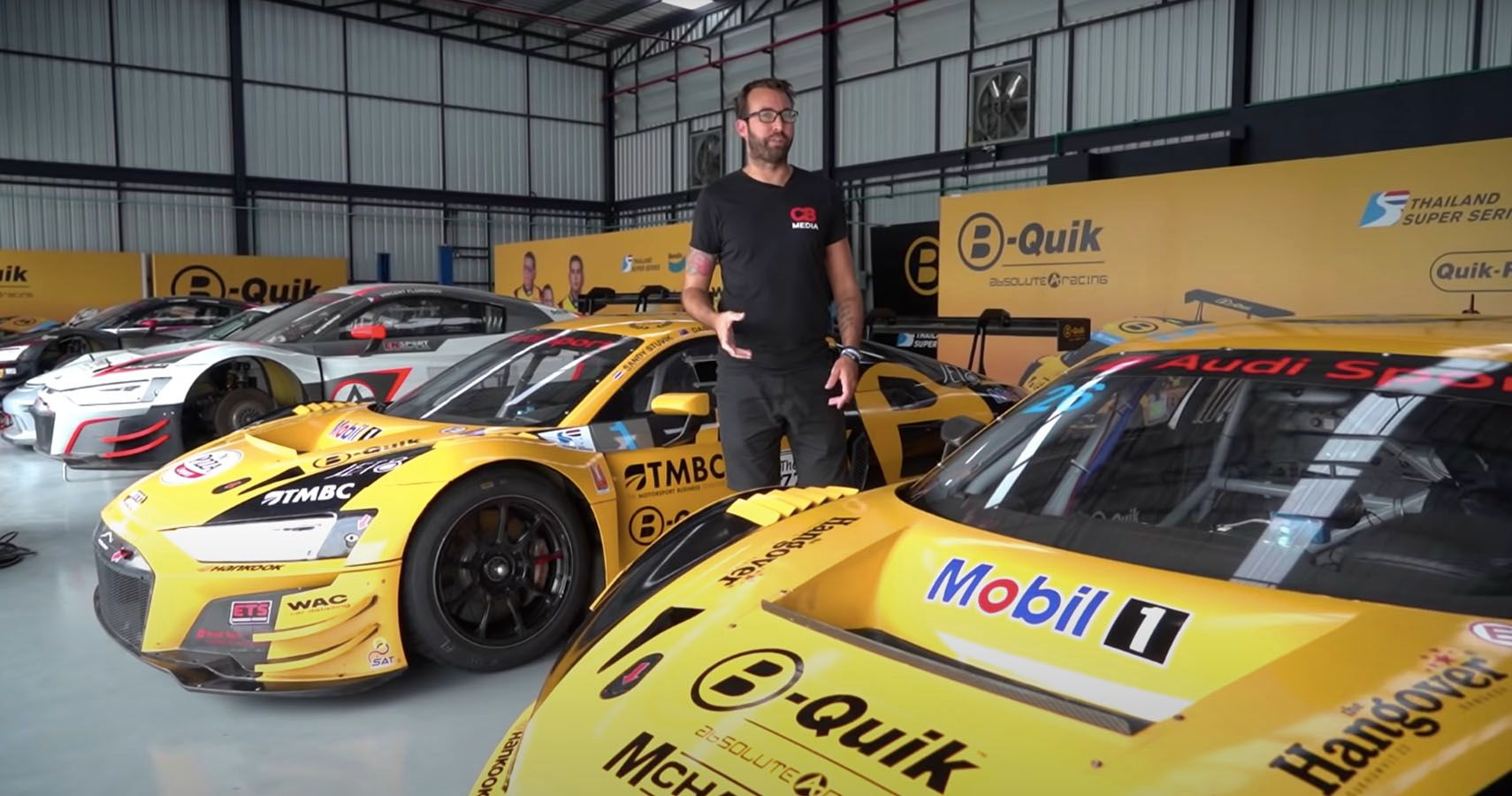 Check Out This Fleet Of Audi R8 Racers In Thailand   HotCars