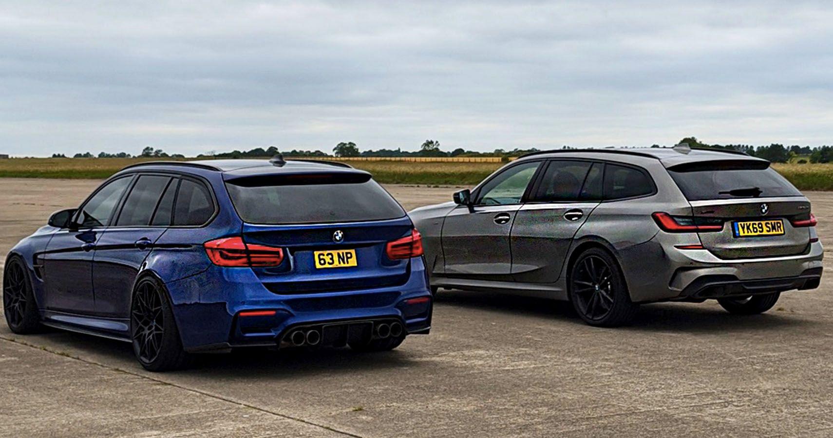 CarWow Races A Fake BMW M3 Touring Vs An M340i Wagon | HotCars