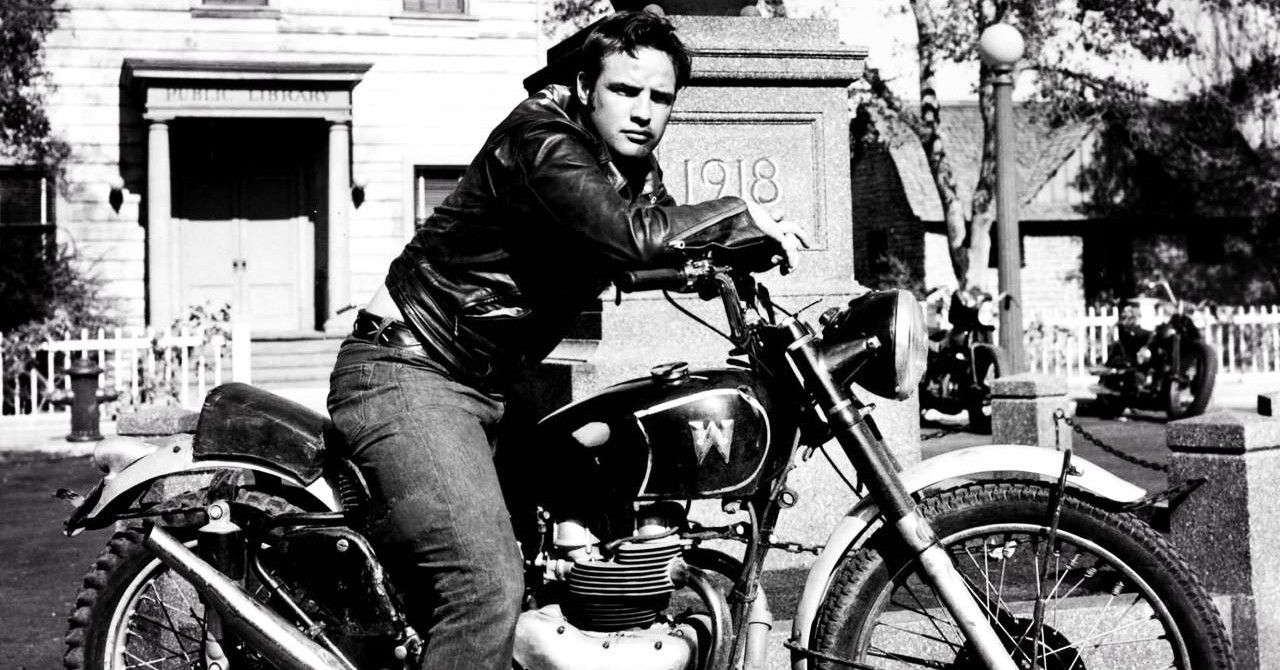 This Is The Motorcycle That Marlon Brando Rode In The Wild One