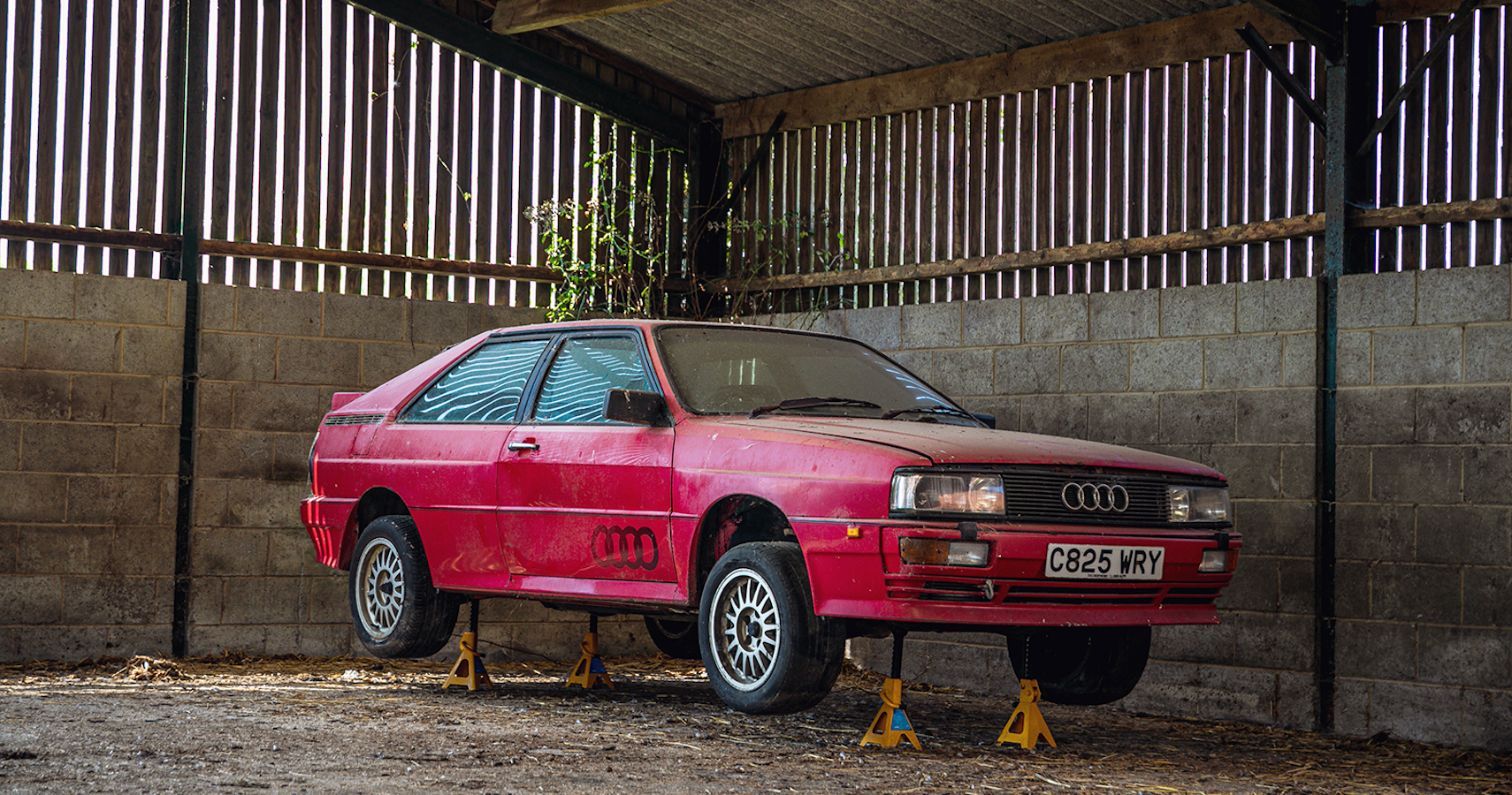 1985 Audi Quattro 10v Sells For $22K After Spending 25 Years Stuffed In A Barn