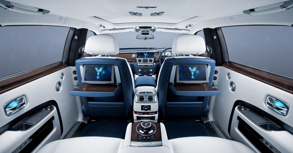 These Luxury Cars Have The Most Spacious Interiors  HotCars