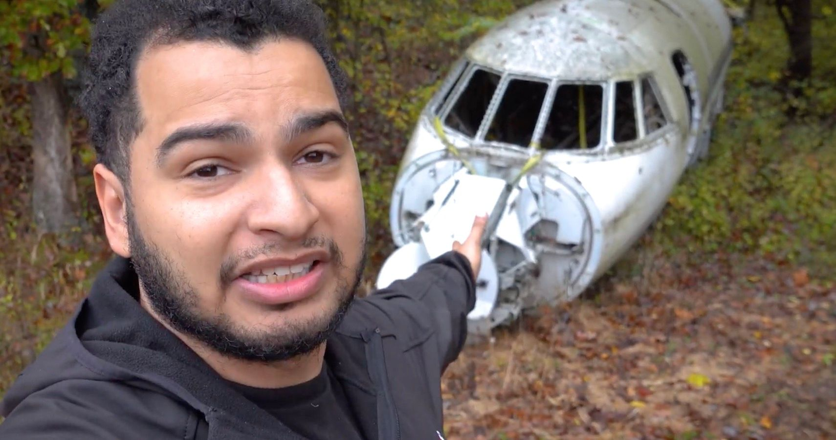 Tavarish Stumbles Upon Abandoned Private Jet In Middle Of Nowhere