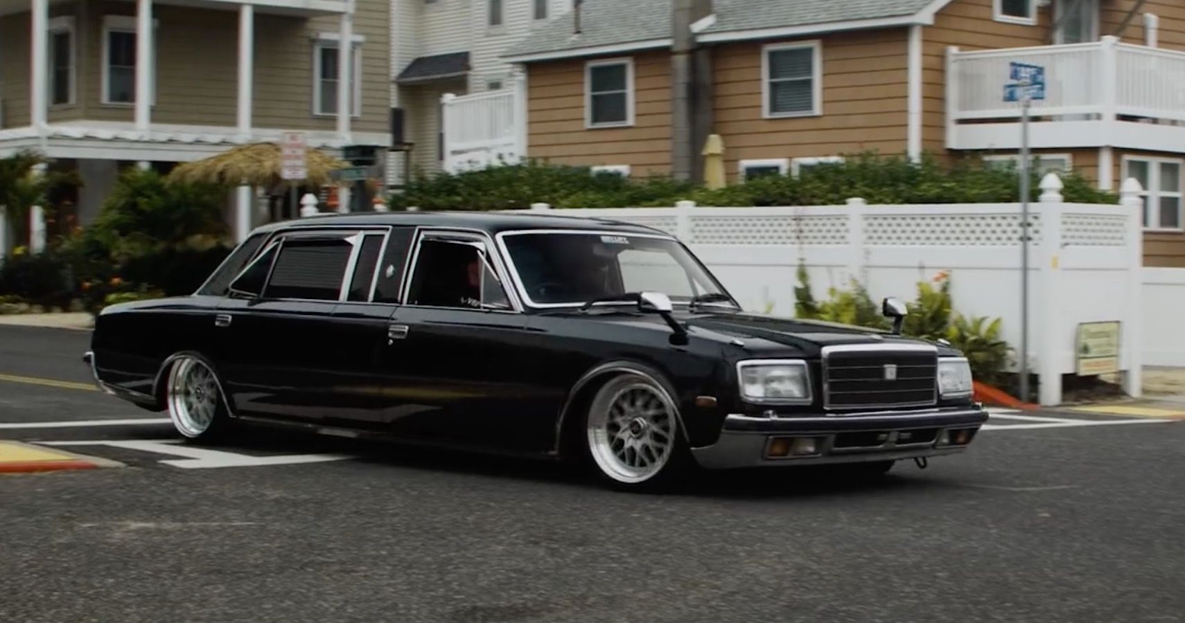 This Rare Toyota Century Lowrider Is A Mafia Gangster's Dream Ride